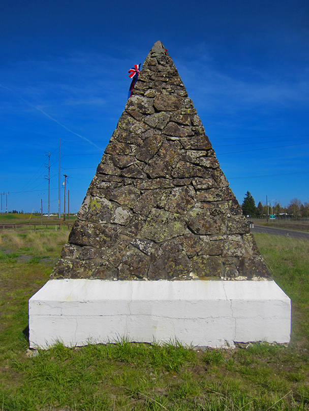 Battle of Spokane Plains Monument